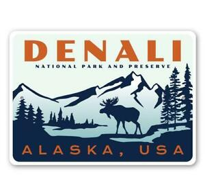 Denali National Park and Preserve, Mountain Range, Mountain Lodge Metal Sign