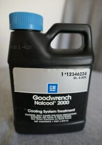 NEW Genuine GM Goodwrench 1 Pint Nalcool 2000 Cooling System Treatment 12346224
