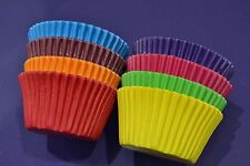 Cupcake Cases x 96 - Bright Colours Purple Cupcakes Greaseproof