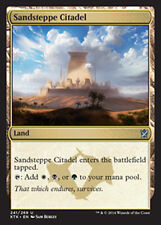MTG SANDSTEPPE CITADEL FOIL EXC - ROCCAFORTE DELLE STEPPE SABBIOSE - KTK - MAGIC