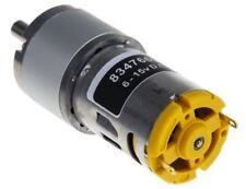 RS Pro, 12 V, 6 â?? 15 V dc, 4445 gcm, Brushed DC Geared Motor, Output Speed 366