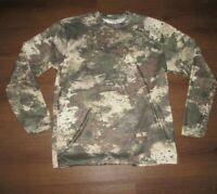 Cabela's NEW Octane2 Camouflaged Crew Neck Pullover T-Shirt  Men's L W-21