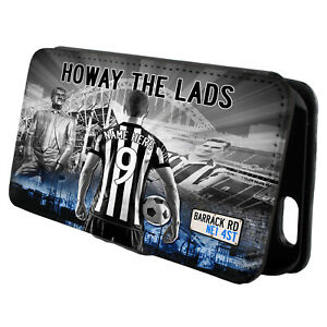 Personalised Newcastle iPhone Case Football Flip Phone Cover Mens Gift AF90