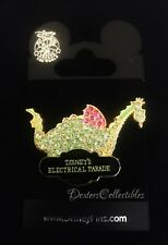 Disney DLR Main Street Electrical Parade Jeweled Pave Elliot the Dragon Pin