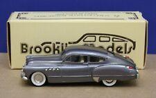 Brooklin 10 1:43 1949 Buick Roadmaster Sedanet Gray metallic w/o hood orn DB