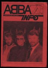 ABBA - ABBA Info - Dutch Fanclubmagazine No.19