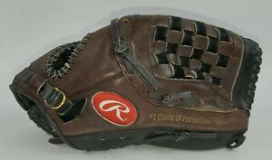 Rawlings Leather Baseball ML125BF Dark Brown/Black Glove RIGHT HAND THROWER