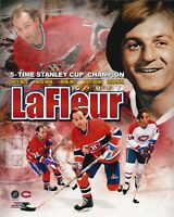 Guy Lafleur Montreal Canadiens Unsigned 8x10 Photo Collage