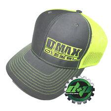 Dmax Duramax richardson 112 hat truck Charcoal Gray YELLOW mesh snap back