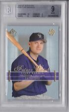 2003 SP Authentic Clint Barmes Rookie Graded BGS 9