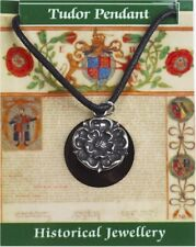 Tudor Rose Pendant  -  Pewter