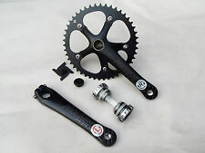 PRO Integrated crankset Bike Crankset 48T Fixed Gear  Crank Fixie Single Speed