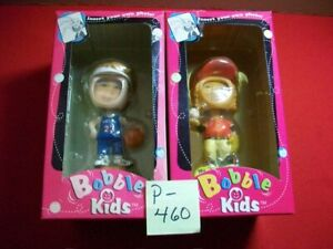 2-VINT. COLLECTIBLE BOBBLE KIDS IN ORIGINAL BOXES SOFTBALL & BASKETBALL PLAYERS