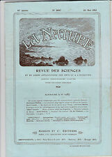 La Nature -Revue -N°2081-1913 -Maladie des anciens objets d'art en plomb...