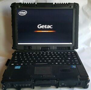 GETAC V200-G2 Intel Core i7-3520M 2.90GHz, 4GB RAM, Windows 10 Pro 64 128GB SSD