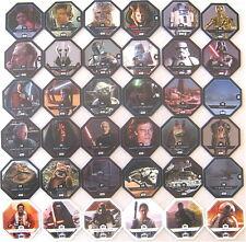 REWE-Star-Wars-Cosmic-Shells-Alle-36-Basiskarten = Komplettsatz