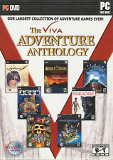 The Viva ADVENTURE ANTHOLOGY 7x PC Game Collection for Windows - NEW in BOX!