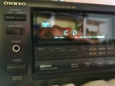 Onkyo TX-9031 RDS Stereo Receiver / Verstärker / Amplifier in schwarz + Remote