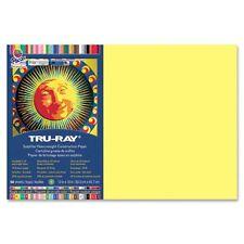 Tru-Ray Yellow Construction Paper - PAC103046