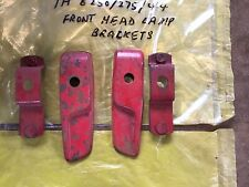 More details for ih bradford made b series tractor front headlight brackets and mounts