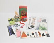 Small Lot 11 Items Wizard of Oz Memorabilia Treasure Box, Magnets, Bookmarks.