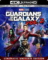 Guardians of the Galaxy: Volume 2 (4K , Blu-ray,2017) - Chris Pratt - NEW
