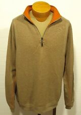men's TOMMY BAHAMA 1/4 zip sweater pullover marlin size XL