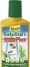 Tetra SafeStart Plus Concentrated For Freshwater Aquarium 3.38 Oz *NEW*