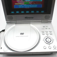 Memorex DVD Player Portable 7-Inch Widescreen TFT Monitor +Remote & Case Logic