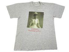 Vintage 90s Celebrate Nursing Past Future T-Shirt Internet Computer Apple L Rare