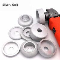 1 '' Vakuum Diamant Profil Rad Schleifscheibe Marmor Granit Silber oder Gold neu