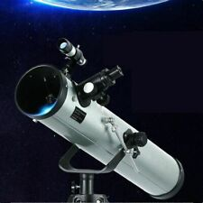Astronomical Telescope Refractor Tripod Monocular Space Scope Reflector Eyepiece