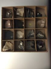 Teaching Supplies: Collection of Rocks and Minerals- 16 Samples