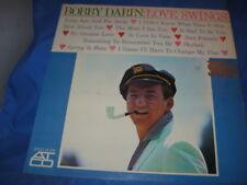 BOBBY DARIN~LOVE SWINGS~RARE~STEREO~SEALED~1960'S ORIG~EXCELLENT[INV-26]