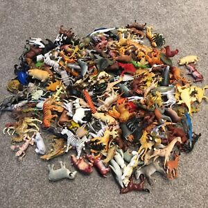 Animal Bundle - 20x Figures / Toys / Cake Toppers - Wild, Zoo, Pet, Safari Small