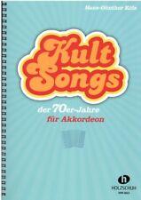 Akkordeon Noten : Kult Songs der 70er-Jahre - (H.G. KÖLZ) mittelschwer