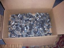 LATE 80's TO EARLY 2000's SILVER BLACK GREY PLASTIC LUG NUT COVERS Lot of  325+