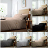 WAFFLE Designed Duvet Quilt Cover Bedding Set Pillowcase Single Double King New
