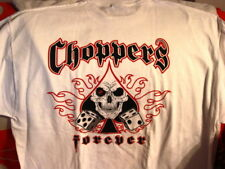 CHOPPERS FOREVER SKULL AND DICE T-SHIRT #2