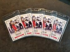 Jennie Finch USA Olympic Arizona University lot (5) 2013 Leaf # 5 Softball Card
