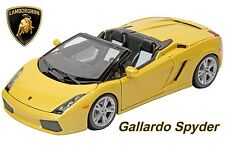 1:18 Scale Diecast Model Of A Lamborghini Gallardo Spyder. By Burago