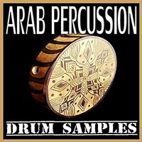 Arabic Percussions Drum Samples Dr. Rex WAV Formats