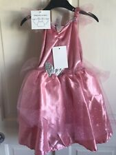 BNWT Fairy Dress With Wings. Girls. Pink. Age 1-7 Years. Fancy/Dress Up. Costume