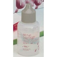 GC FUJI I GLASS IONOMER LUTING CEMENT LIQUID ONLY - 25 GM BOTTLE