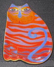2007 Laurel Burch Cat Plate - Wine Things Sonoma Ca