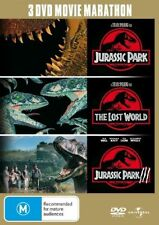 Jurassic Park / Jurassic Park: The Lost World / Jurassic Park III (DVD, 2008, 3-