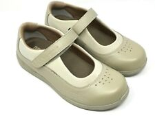 DREW Rose Women's Mary Jane Beige Bone Orthopedic Comfort Shoes 8 WW Extra Wide