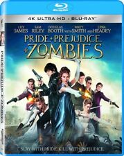 Pride and Prejudice and Zombies [New Blu-ray] UV/HD Digital Copy, Widescreen,