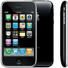 BLACK Tidy Apple iPhone 3GS 16GB-Sbloccato, manomettere con grande App'S & Garanzia