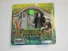 Art Asylum SARUMAN & WORMTONGUE Lord of The Rings Minimates Set